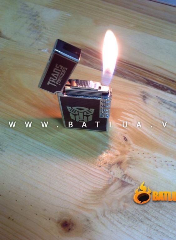 Bật lửa Tranformer kiểu dáng st.dupont cực đẹp