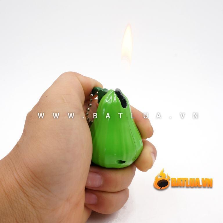 Bật lửa móc khóa  kiểu dáng sáng tạo quả Roi