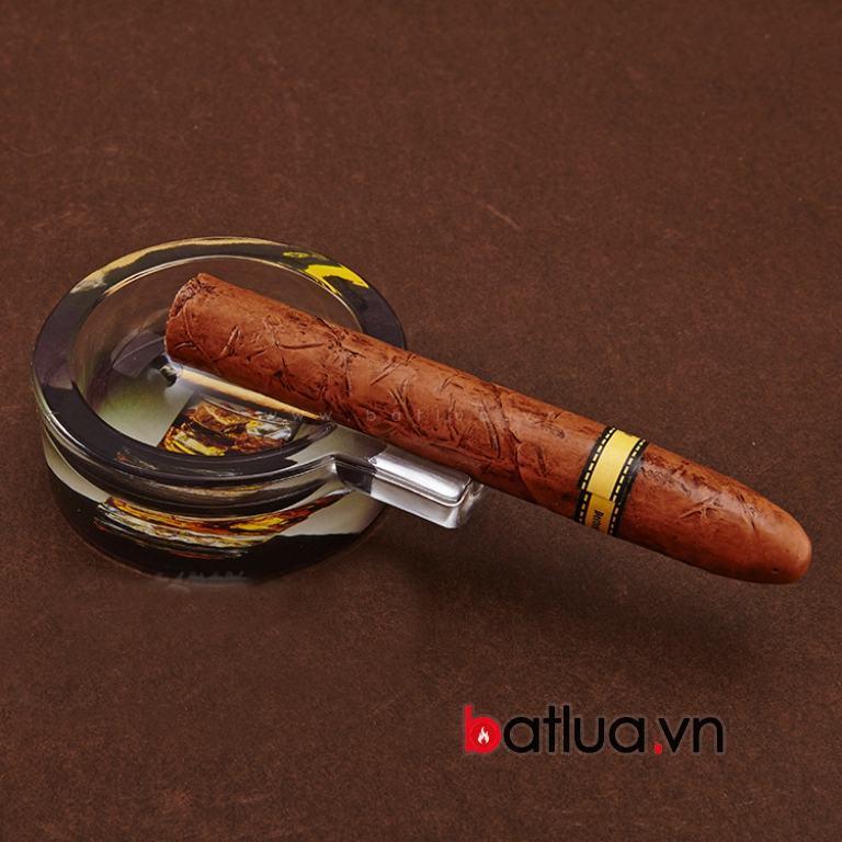Gạt tàn xì gà chất liệu thuỷ tinh cao cấp chính hãng cohiba