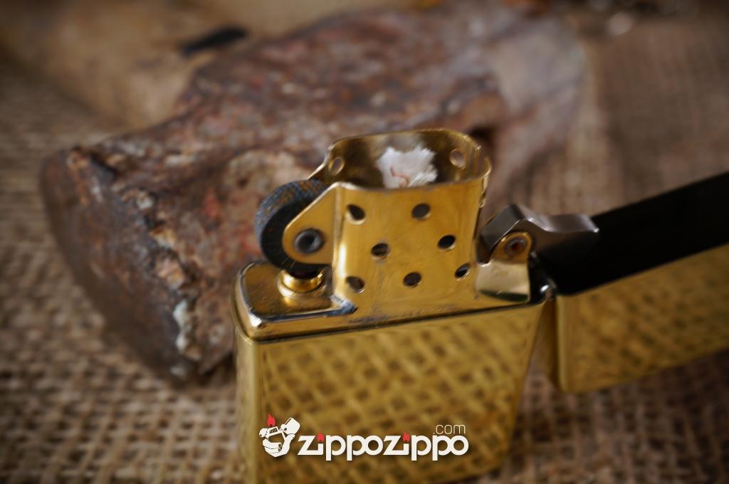 zippo cổ Brass chu niên (1989,1990,1992)