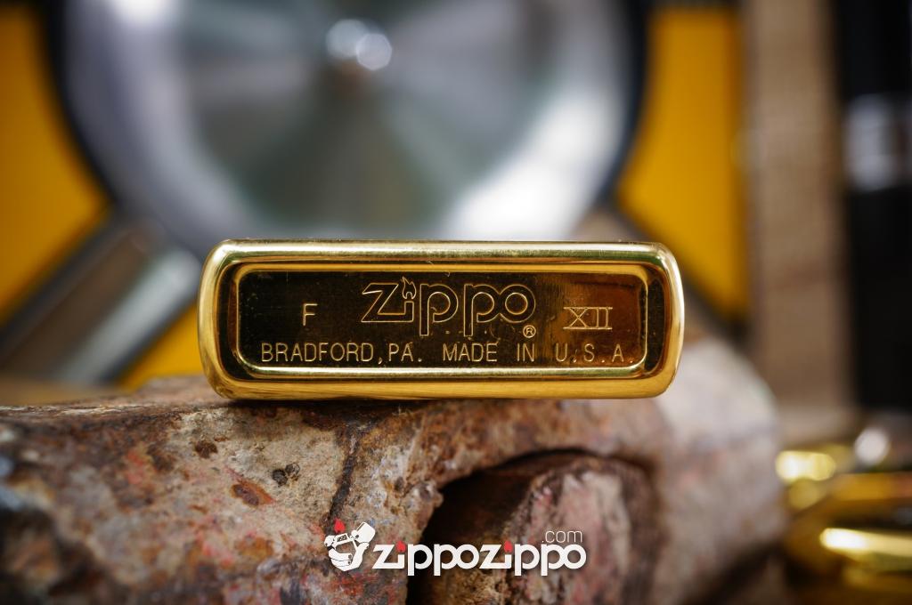 Zippo Vàng hiệu Xe XII