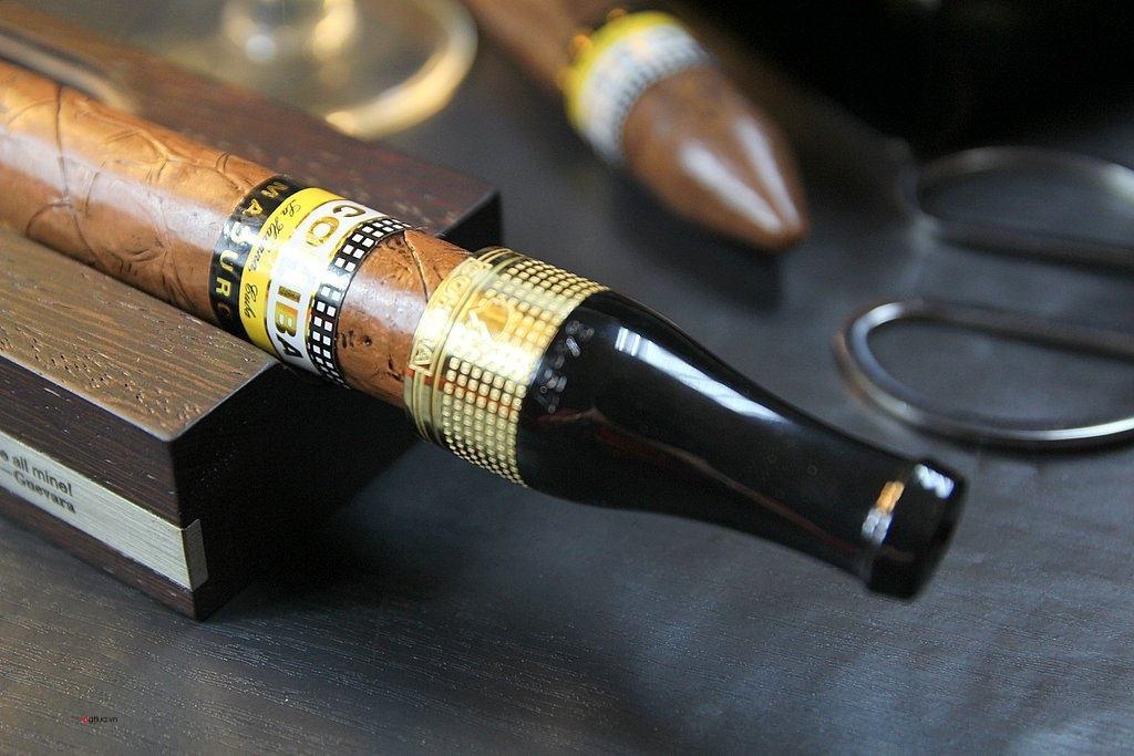 Đầu Tẩu lọc thuốc COHIBA Hút cigar ( Xì gà )