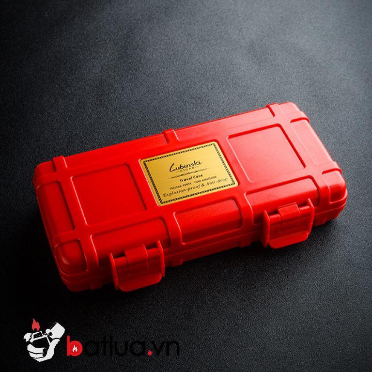 Hộp giữ ẩm xì gà LUBINSKI 60004 màu đen
