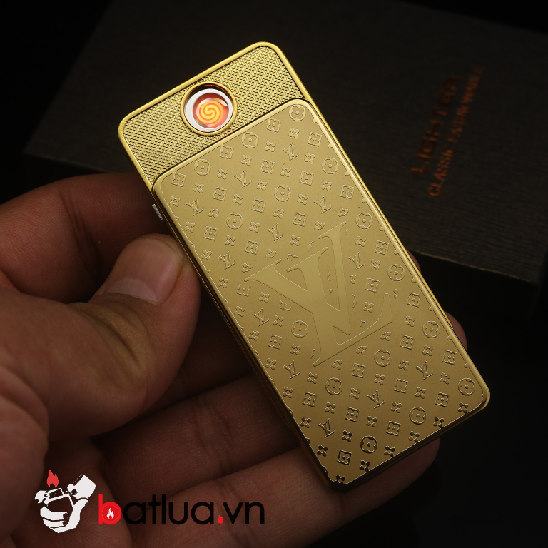 Bật lửa sạc điện USB vàng ZC150S - 2