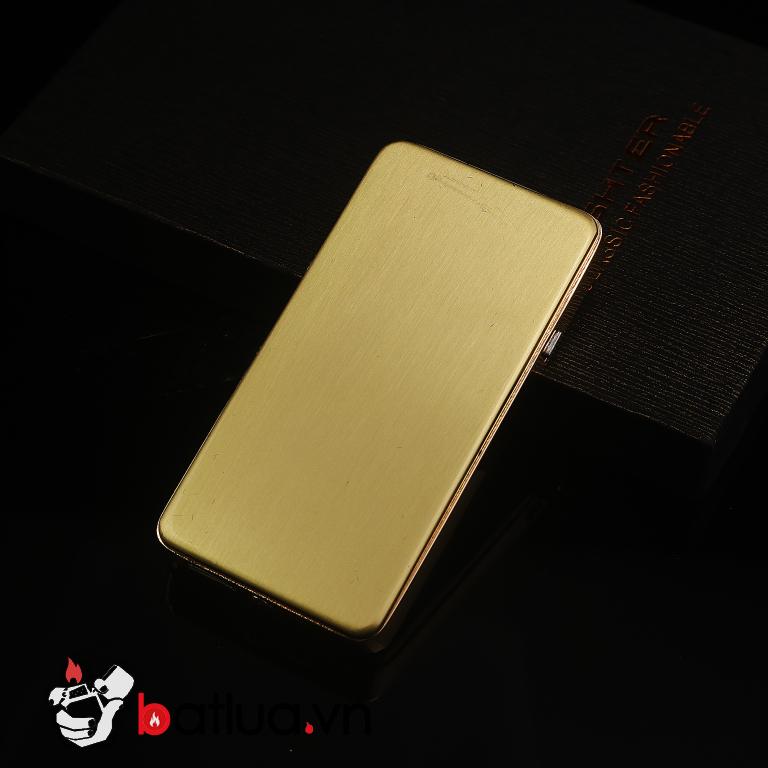 Bật lửa sach điện USB trắng ZC150-28
