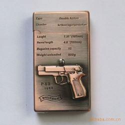 Bật lửa cảm ứng chenlong Cl352 logo súng lục - Mã SP: BL09234