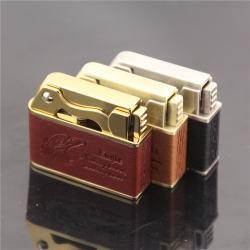 Bật lửa da chính hãng jobon phong cách cổ điển boutique sử dụng xăng ZB612E - Mã SP: BL09319
