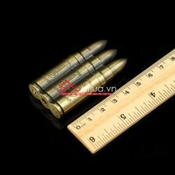 Bật lửa đánh đá hình ba viên đạn - Mã SP: BL09829
