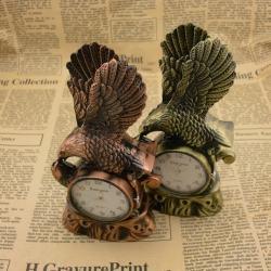 Bật lửa để bàn hình con chim ưng kiêm đồng hồ - Mã SP: BL09747