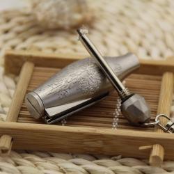 Bật lửa diêm xăng móc treo chìa khóa hình lục bình tuyệt đẹp - Mã SP: BL09627