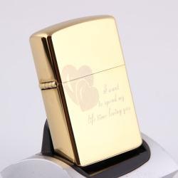 Bật lựa điện sạc qua USB kiểu dáng Zippo tình yêu Mẫu 42  MS66 069 - Mã SP: BL00638