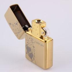 Bật lựa điện sạc qua USB kiểu dáng Zippo tình yêu Mẫu 6 MS66 025 - Mã SP: BL00562