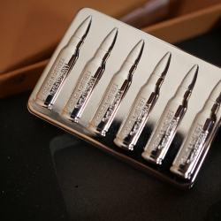 Bật lửa điện sạc USB Sy605 logo hình viên đạn MS66 079 - Mã SP: BL00977