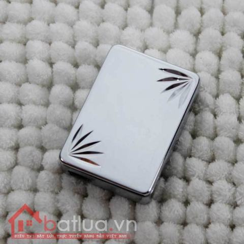 Bật lửa điện SY605 dùng pin sạc qua USB  khắc lá  MS66 082