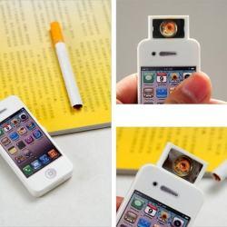 Bật lửa sạc điện usb hình iphone 4 sành điệu MS66 007 - Mã SP: BL00053