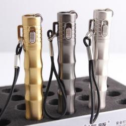 Bật lửa dolphin hình đốt tre HY226 có khoá lửa - Mã SP: BL09600