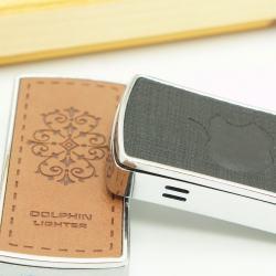 Bật lửa DOLPHIN - Lửa khò - logo apple  MS88 108 - Mã SP: BL00055