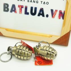 Bật lửa hình lựu đạn loại nhỏ - lửa thường - MS55 033 - Mã SP: BL00086