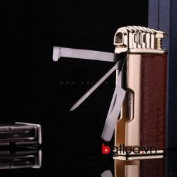 bật lửa honest kèm dụng cụ chuyên dụng để hút tẩu honets 381 - Mã SP: BL03302