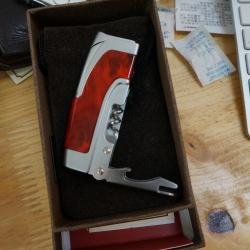 Bật lửa honest kiêm dụng cụ mở rượu lửa khò 107-1 - Mã SP: BL09490