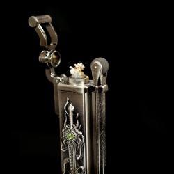 Bật lửa khắc hình thanh kiếm trên thân - Mã SP: BL01509