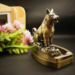 Bật lửa kiêm gạt tàn hình con Chó sói - Mã SP: BL00464