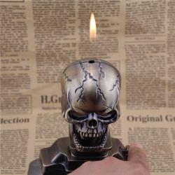 Bật lửa kiêm gạt tàn hình đầu lâu - Mã SP: BL09195