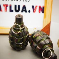 Bật lửa kiểu dáng lựu đạn loại to - MS55 024 - Mã SP: BL00197