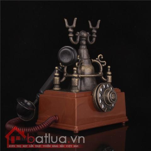Bật lửa kiểu dáng sáng tạo mô hình chiếc điện thoại bàn cổ có chuông XP-1805