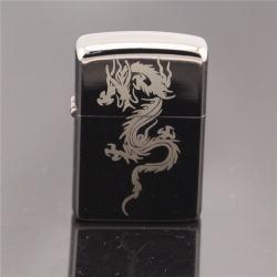 Bật lửa kiểu dáng Zippo Tribal Dragon cực chất - Mã SP: BL09051
