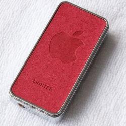 Bật lửa Lighter có hình quả táo apple bằng kim loại - Mã SP: BL09047