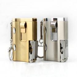 Bật lửa móc khóa lửa khò có dụng cụ khui mà đèn soi tiền giả - Mã SP: BL09067