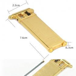 Bật lửa Mr. Smoke chính hãng Nhật Bản cấu tạo từ đồng nguyên chất bản Golden JP007 - Mã SP: BL00576
