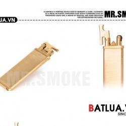 Bật lửa Mr. Smoke chính hãng Nhật Bản cấu tạo từ đồng nguyên chất Bihumanbu JP013 - Mã SP: BL01225
