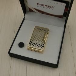 Bật lưa promise sang trọng thiết kế với các đường nét caro tinh xảo mã 111-A11-A13 - Mã SP: BL01296