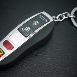 Bật Lửa sạc cổng USB hình móc khóa ô tô Ver 2 có đèn báo khi sạc điện  MS66 011 - Mã SP: BL00536