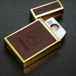 Bật Lửa Sạc Cổng USB hình vuông mở nắp tự động MS66 003 - Mã SP: BL00529