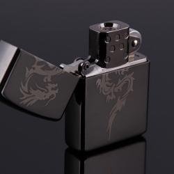 Bật lửa sạc điện không dùng ga kiểu dáng zippo mẫu 20 khắc rồng MS66 042 - Mã SP: BL00614