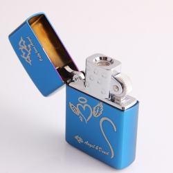 Bật lửa sạc điện không dùng ga kiểu dáng zippo mẫu 21 chữ Only Love Angel MS66 043 - Mã SP: BL00615