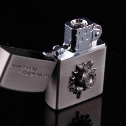 Bật lửa sạc điện không dùng ga kiểu dáng zippo mẫu 41 Niken MS66 066 - Mã SP: BL00636