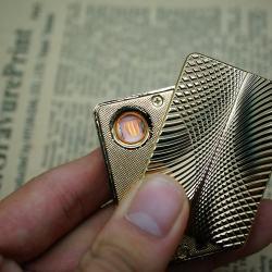 Bật lửa sạc điện SY 605 lượn sóng tinh tế - Mã SP: BL01783