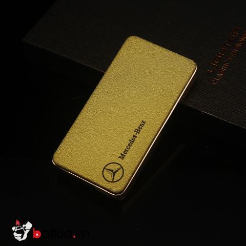 Bật lửa sạc điện USB mercedes benz màu vàng