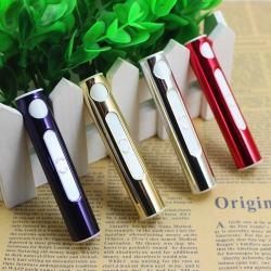 Bật lửa sạc điện USB trụ tròn nhỏ ngọn tiện dụng - Mã SP: BL09537