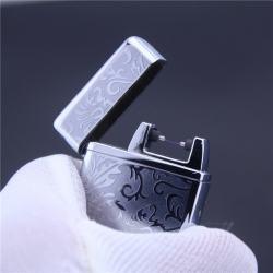 Bật lửa sạc điện USB Weipeng hoa văn tinh tế phóng tia lửa điện - Mã SP: BL02141