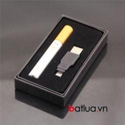 Bật lửa sạc USB hình điếu thuốc - Mã SP: BL02628