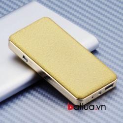 Bật lửa sạc USB kim loại khắc mặt đá nhẹ - Mã SP: BL10393