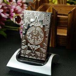 Bật Lửa St. Dupont bạc khắc hoa vản tinh xảo với những họa tiết độc đáo mẫu 101 - Mã SP: MH01882