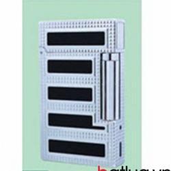 Bật lửa ST Dupont mẫu A143 đen sọc trắng - Mã SP: BL10250
