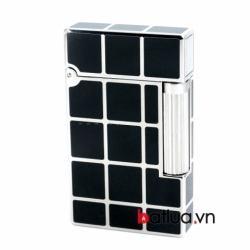 Bật lửa ST Dupont mẫu A137 đen ô vuông - Mã SP: BL10244