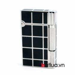 Bật lửa ST Dupont mẫu A139 đen ô vuông - Mã SP: BL10246